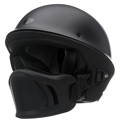 Bell-Matte-Black-Adult-Rogue-Solid-Half-Motorcycle