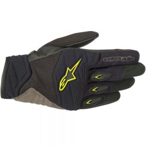 GĂNG TAY ALPINESTARS SHORE (BLACK/GREEN)
