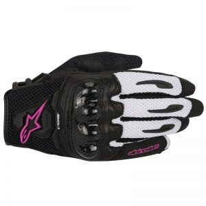 GĂNG TAY ALPINESTARS SMX-1 AIR V2 BLACK/WHITE/PURPLE