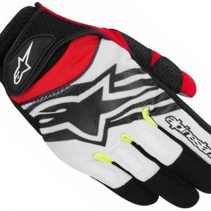 GĂNG TAY ALPINESTARS SPARTAN RED/BLACK/WHITE