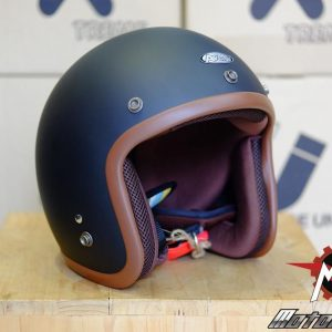 MŨ 3/4 AVEX X'TREME BLACK MATTE/ BROWN