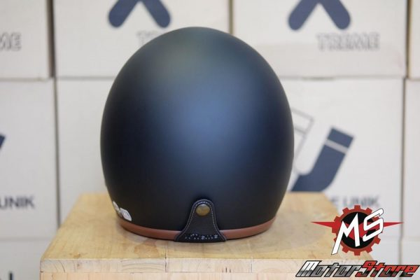 MŨ 3/4 AVEX X'TREME BLACK MATTE/ BROWN (3)