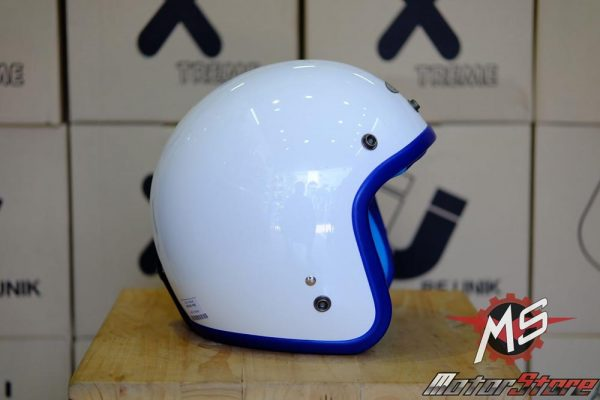 MŨ 3/4 AVEX X'TREME WHITE/BLUE(2)
