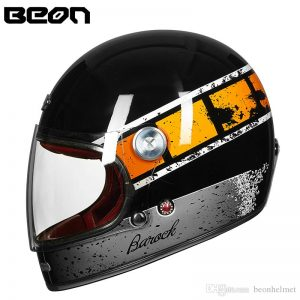 MŨ CLASSIC BAROCK B510 RETRO GREY/BLACK/ORANGE