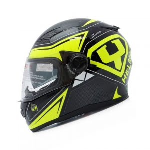 MŨ FULLFACE YOHE 970 BLACK/YELLOW