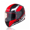 MŨ FULLFACE LS2 RAPID FF353 INFINITY BLACK RED WHITE