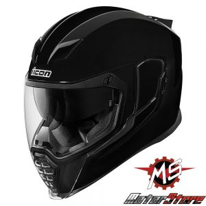MŨ FULLFACE ICON AIRFLITE GLOSS/BLACK